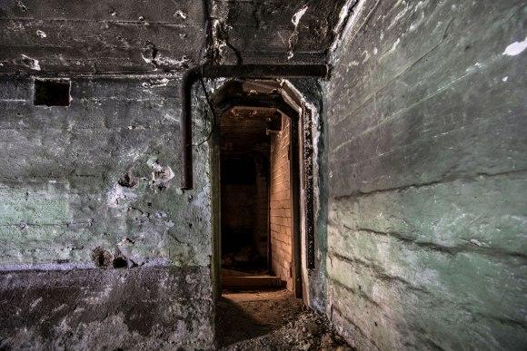 Slėptuvė Naujojoje Vilnioje - patalpų sujungimas
