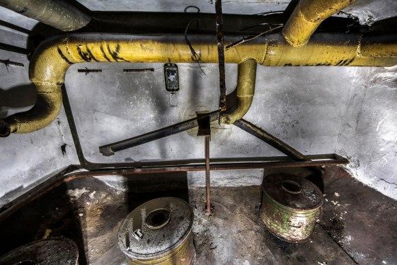 Slėptuvė Pušų gatvėje - ventiliacijos įranga
