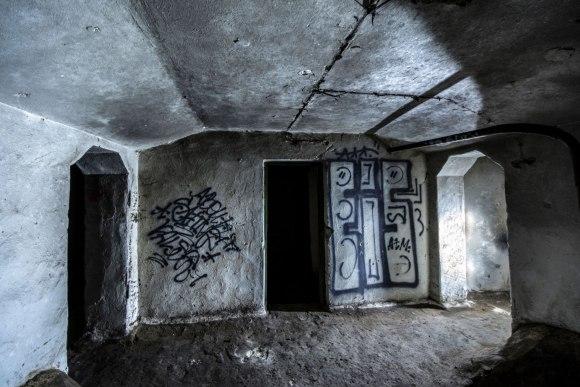 Slėptuvė Pušų gatvėje - patalpa