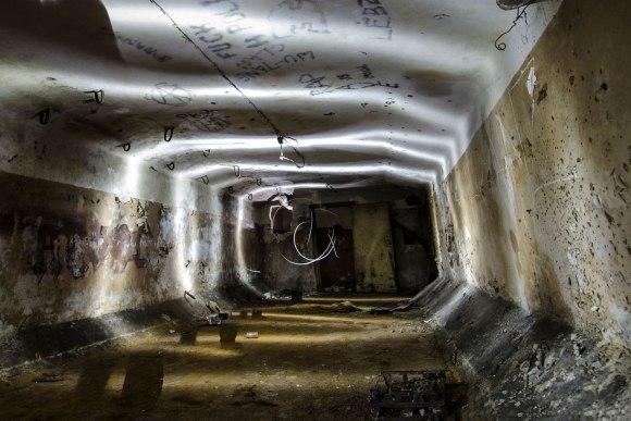 Slėptuvė Reformatų skvere - šviesų žaismas