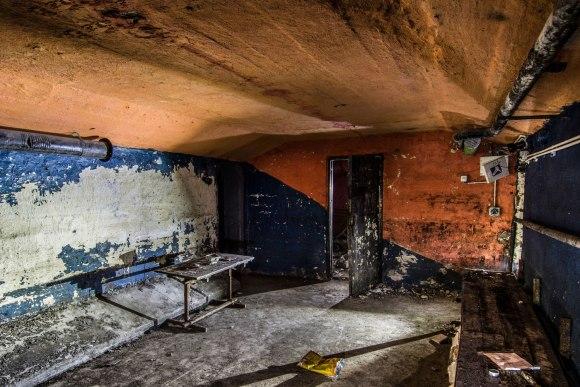 Bombiakas - patalpa viduje