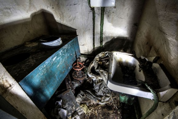 Slėptuvė Dzūkų gatvėje - tualetas