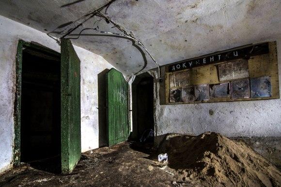 Slėptuvė Žvėryne - autentiškos durys