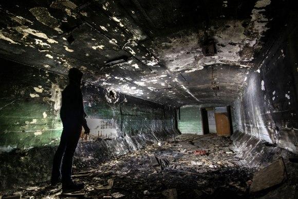 Slėptuvė Naujojoje Vilnioje - patalpa viduje