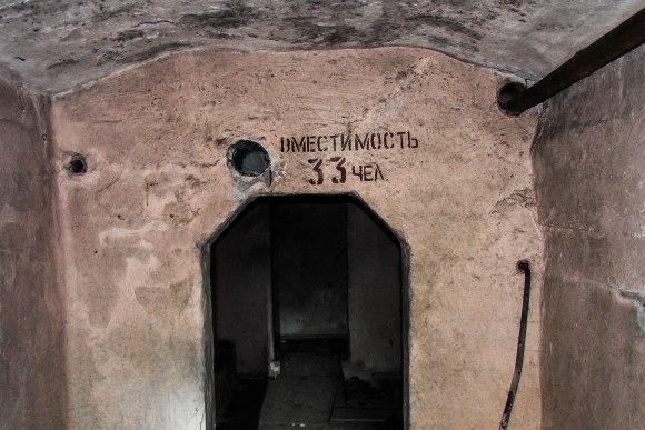 Slėptuvė Užupio skvere - didesnė patalpa
