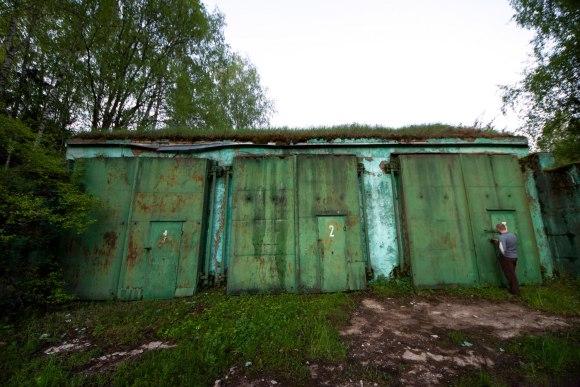 Bunkeris - garažas