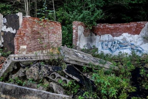 Sugriuvusios sienos