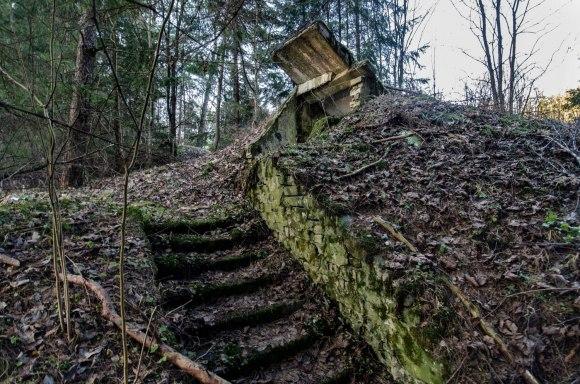 Laiptai į bunkerį
