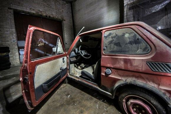 Pamiršta Fiat 123p