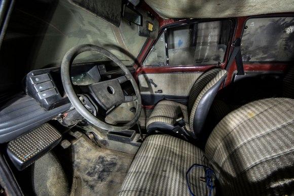 Fiat 123p salonas