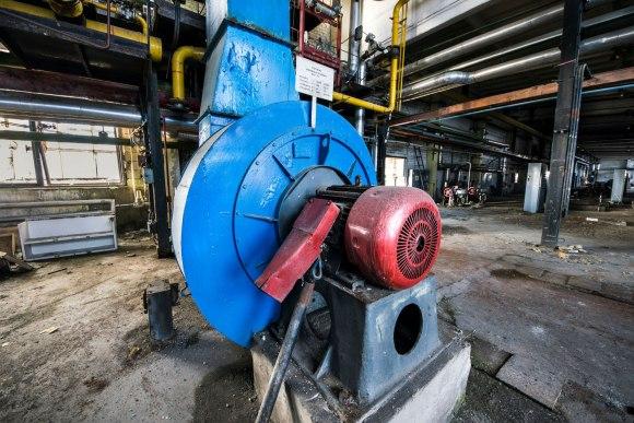 Apleista katilinė - ventiliatorius