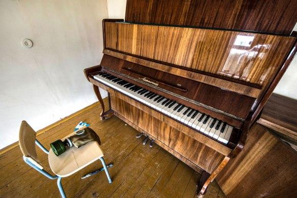 Apleistas pianinas