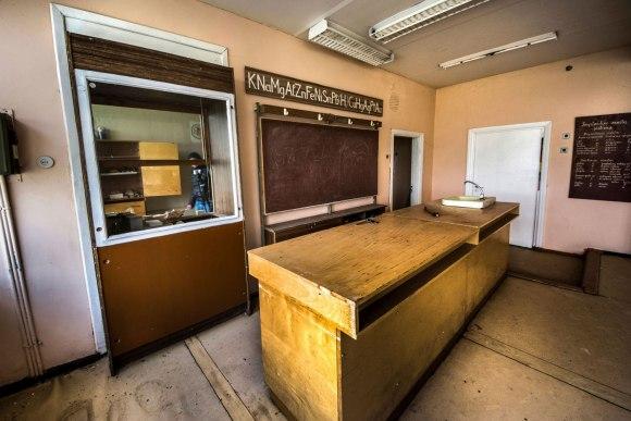 Fizikos arba chemijos kabinetas