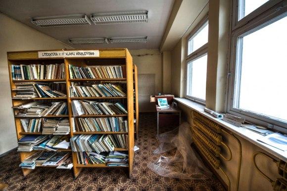 Apleista biblioteka
