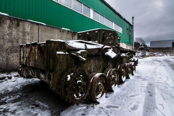 Apleistas tankas