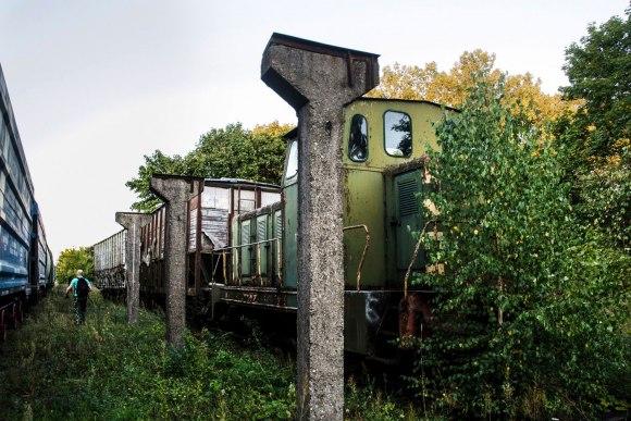 Dar vienas apleistas traukinys