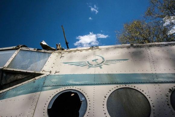 Sovietų aviacijos ženkliukas