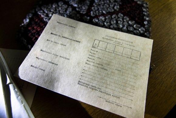 Skaitytojo kortelė