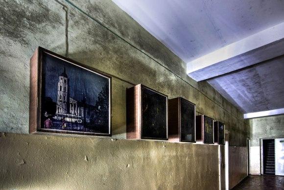 Nuotraukos koridoriuje