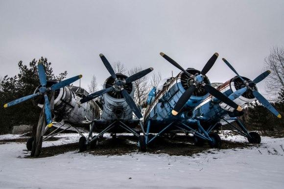 Apleisti lėktuvai
