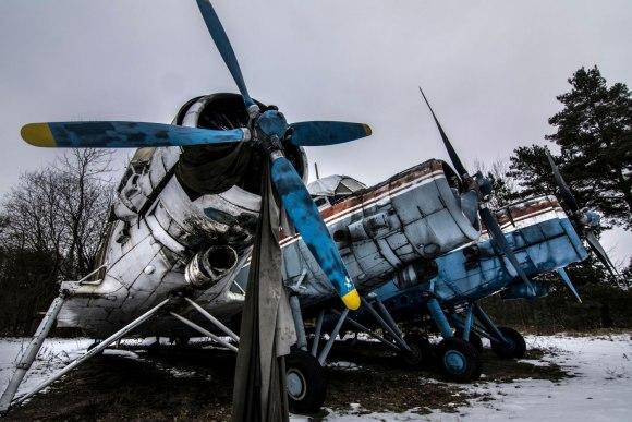 Apleistas lėktuvas