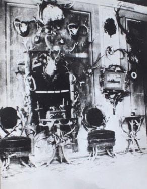 Medžioklės kambarys 1930 m.