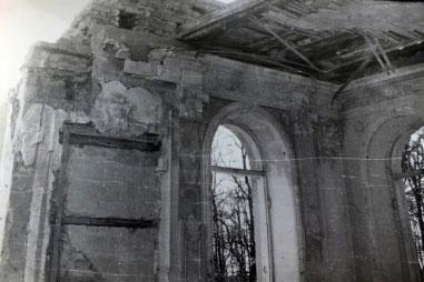 Reprezentacinės salės likučiai 1951 m.