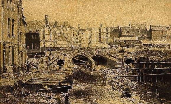 Senos kanalizavimas 1867-tais