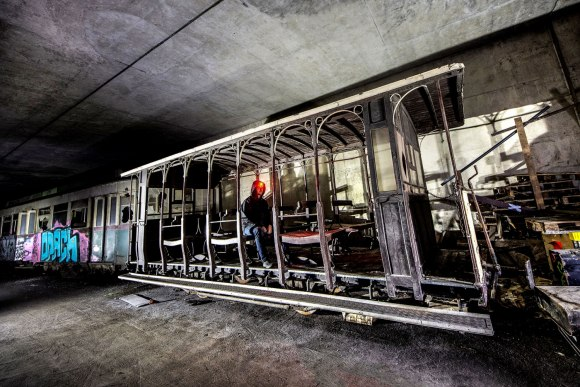 Apleistų autobusų tunelis