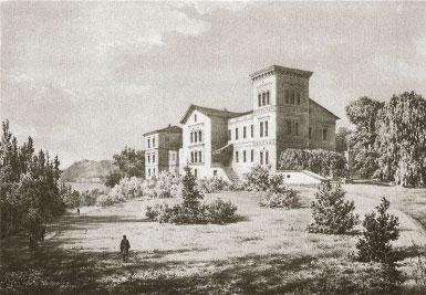 Belvederio dvaras, XIX a. pab.