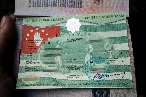 Abchazijos viza