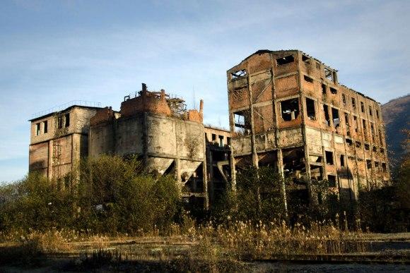 Gamyklos griuvėsiai