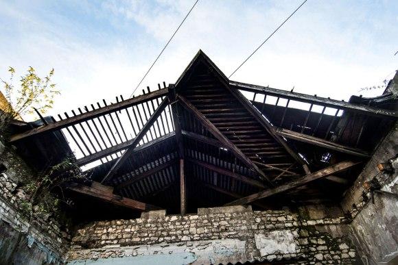 Įlūžęs stogas