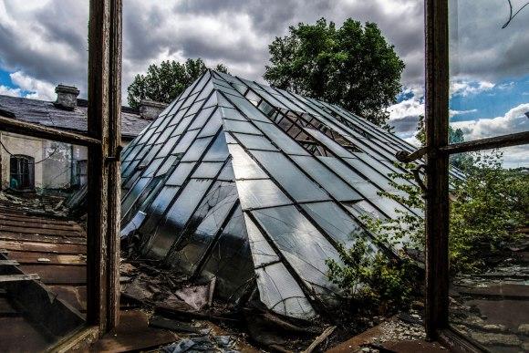Oranžerijos stogas