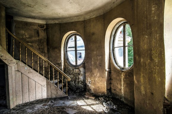 Laiptai į bokštelį