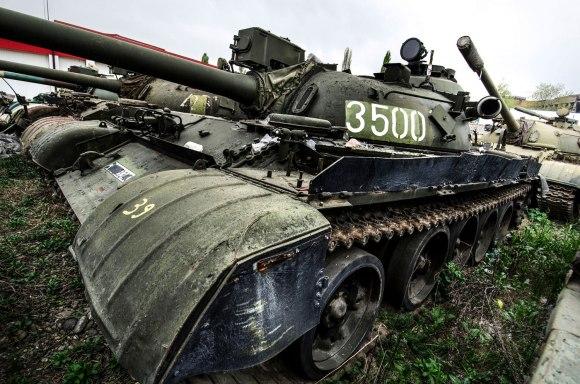 Tankas T-55