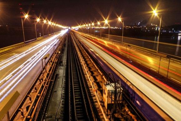 Lekiantis traukinys
