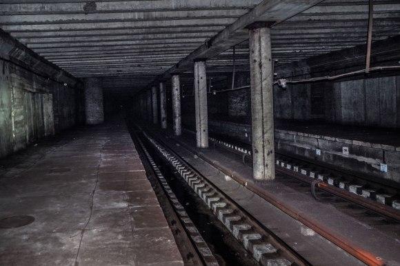 Nebaigta statyti stotis