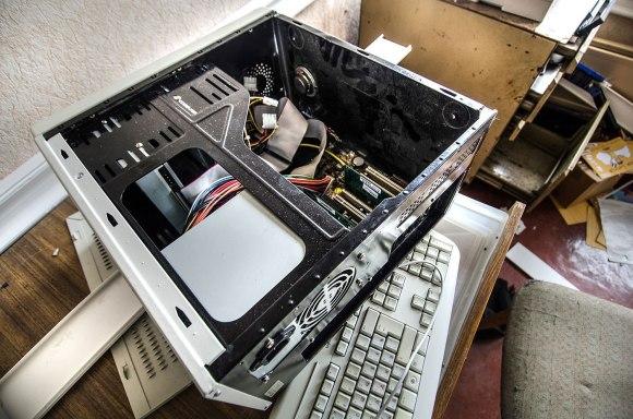 Išlupinėtas kompiuteris