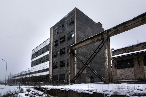 Apleistas pastatas