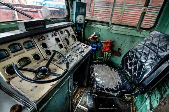 Mašinisto vieta