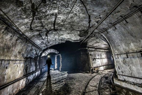 Mažino linija - tunelių išsišakojimas