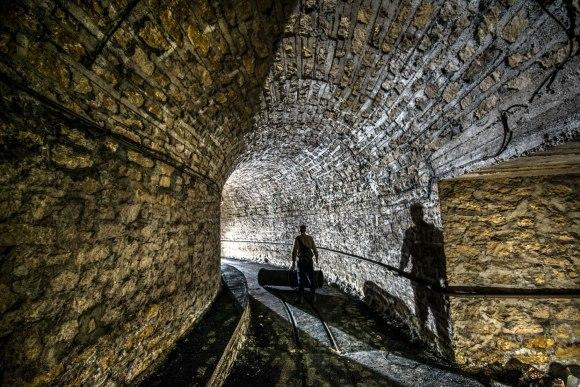 Mažino linija - tunelio posūkis