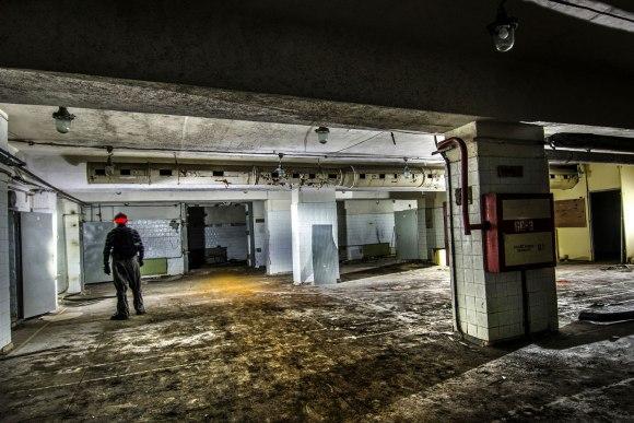 Didelė slėptuvės patalpa