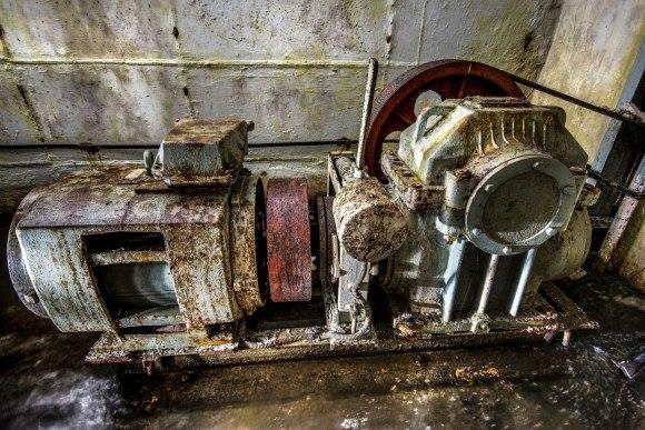 Lifto variklis