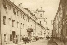 IKONOGR Nr. 13. Dominikonų gatvė apie 1930 m., L. Vysockis