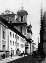 Šv. Dvasios bažnyčia 1895 metais