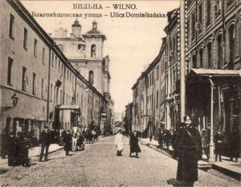 Domininkonų gatvė 1930 metais