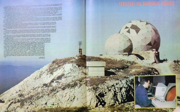 Gola Pljesevica radiolokacijos pastotė