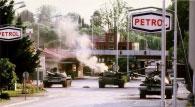 Slovėnų kariuomenės pamuštas tankas, Rožna Dolina
